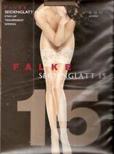 Falke SEIDENGLATT 15 - halterlose Strümpfe Gr. I - III schwarz, puder, golden