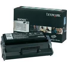 Genuino Lexmark 12a7405 Alta Capacidad Cartucho de tóner negro - Devoluciones