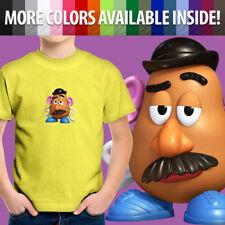 Toy Story 2 3 Movie Mr. Potato Head Disney Cartoon Unisex Kids Tee Youth T-Shirt