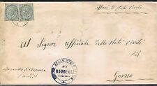 1875 da Serina su coppia 5 c. 1863 per Gorno