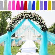 Tulle Wedding Decoration Tutu Craft Party Bridal Favor Fabric Spool Bolt 54 Roll