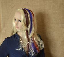 2x künstliche Haarverlängerung Haarsträhnen Clip in Extension hair Kunsthaar