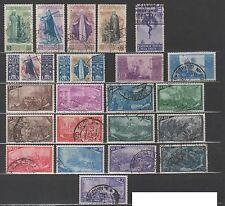 Francobolli Repubblica 1948 1949 1950 annate complete