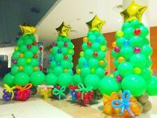Árbol de Navidad Santa Claus Muñeco Nieve Globo Feliz Decoración Fiesta