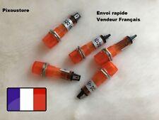 Voyant vintage Type NEON φ8 rond miniature 12v  Couleur au choix CE neuf