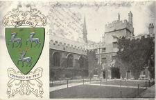 ANGLETERRE ENGLAND OXFORD JESUS COLL stamp 1905