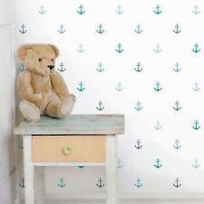 Kinderzimmer Tapete VliesTapete Premium No.YK62 Anker Türkis FotoTapete Quadrat