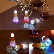 LED Fairy Light USB Cork Wine Bottle Stopper Rechargeable Romantic Party Decors