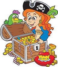 Adesivo bambino trésor pirata ref 3593