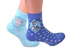 2 oder 4 Paar Disney ABS Socken Vollfrottee Eiskönigin Schneemann Auto Cars warm