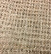 """Hessian Natural 100% Jute, Burlap Sack Material, 54"""" 135cm Wide, Craft Fabric"""