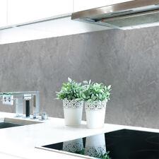 Küchenrückwand Steinwand Hellgrau Premium Hart-PVC 0,4 mm selbstklebend