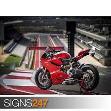 Ducati Superbike 1199 (1516) Cartel impresión arte A1 A2 A3 - 2º Cartel 50% Off!