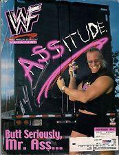 Mr Bad Ass Billy Gunn Signed 1999 WWE Magazine PSA/DNA COA Auto'd DeGeneration X
