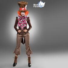 Costume Cappellaio Matto travestimento Carnevale cosplay Mad Hatter Alice Romics
