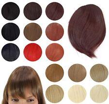 Clip-In Frange Postiche Extensions Cheveux Fausse Faux Lisse YZF-1088HT
