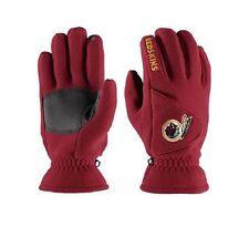 NWT NFL Washington Redskins 180's Reebok Winter Fleece Gloves W/ Exhale Heating™