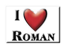 MAGNETS FRANCE - BRETAGNE CALAMITA SOUVENIR AIMANT I LOVE ROMAN (EURE)