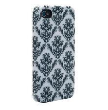 Venom Signature Hard Shell Case For iPhone 4/4S - Fleur de Lys Black & White NEW