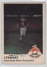 1970 O-Pee-Chee CFL #37 Ron Stewart Ottawa Rough Riders (CFL) Football Card