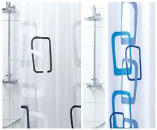 Tenda doccia ANTIMUFFA moderna vinile impermeabile 3 misure anelli inclusi PVC