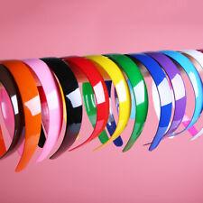 1PC Plastic Candy Color Hairband Headband Hair Hoop Hair Accessories Women Girls