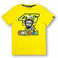 Neu Offiziell Valentino Rossi VR46 Gelb 2015 T-Shirt - VRMTS 152401