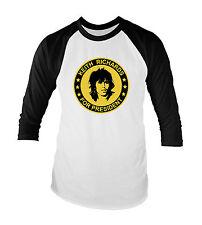 Keith Richards For President Unisex Baseball T-Shirt All Sizes