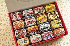 Small Tin new retro style Secret Storage Tobacco Box Little Candy,32 styles, no5