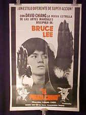 DA HAI DAO * THE PIRATE * DAVID CHIANG KUNG FU * ARGENTINE 1sh MOVIE POSTER 1973