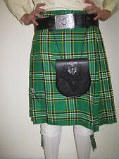 Irish Heritage Tartan Kilt - St Patrick's Day Special -  Mens Waist Size 36