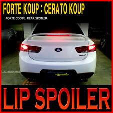 LED Rear Wing Lip Spoiler UNPAINTED For 09 11 KIA Forte Koup