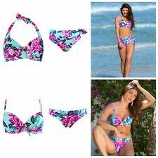 Pour Moi Heatwave Aquaburst Underwired Bikini Top, Padded, Brief or Fold Brief