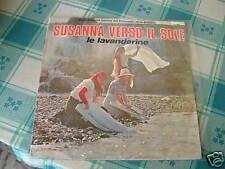 """LE LAVANDERINE """"SUSANNA VERSO IL SOLE"""" CAROSELLO TV SOLE BIANCO ITALY'75"""
