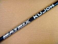 "One New Matrix Kujoh Graphite Wood Shaft Choose Flex .335 46"" Uncut"