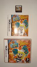 JEU NINTENDO DS DSLITE DSI DS XL 3DS BOB L'EPONGE SUPER VENGEUR COMPLET