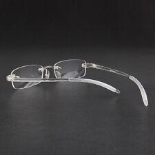 TR90 Colorful Transparent Eyeglass Frames lightweight Flexible Rimless Glasses