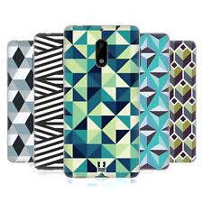 Funda HEAD CASE DESIGNS CON Gel Suave estampados geométricos óptico para teléfonos Nokia 1