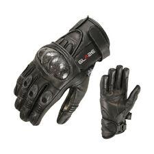 Motocicleta guantes moto motorista guantes de cuero negras motocicleta guantes
