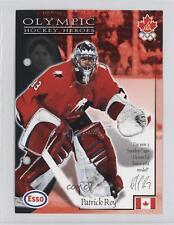 1997-98 Esso Olympic Hockey Heroes #17 Patrick Roy Card