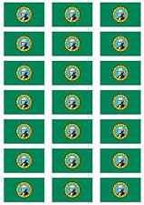 Washington State USA Flag Sticker Sheet