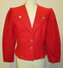Damen Trachten Jacke Janker rot Gr. 42 von C&A Original Alpen-Trachten