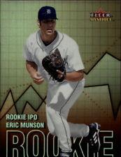 2000 Fleer Mystique Rookie I.P.O. Baseball Card Pick
