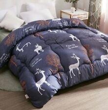Luxury Warm Winter Deer Flamingo Full Queen Thickening Patchwork Comforter