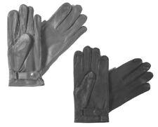 Lederhandschuhe gefüttert  Handschuhe Bundeswehr BW  mit Futter schwarz o grau