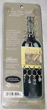 Adorne Bottle Bijoux Bar Accessories - Metal Wine Glass Charm Markers Decoration
