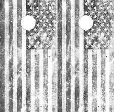American Flag Cornhole Board Game Decal Wraps Vinyl Sticker Usa