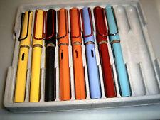 LAMY Safari Füllhalter, seltene Farben und Exportmodelle