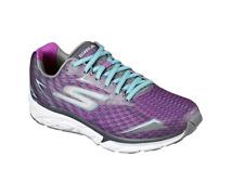 Skechers Women's GOrun Forza 2 Running Shoe, Charcoal/Purple