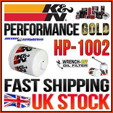 K&N HP-1002 PERFORMANCE GOLD OIL FILTER LEXUS LS400 1990-2000 GS300 1993-2005